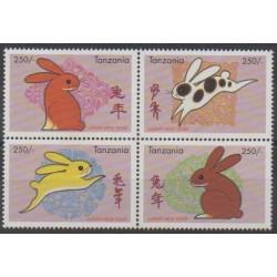 Tanzania - 1999 - Nb 2602/2605 - Horoscope