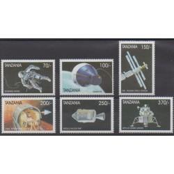 Tanzanie - 1999 - No 2678/2683 - Espace