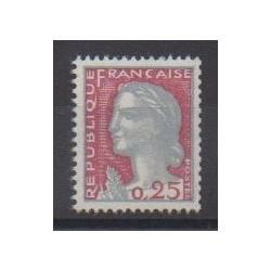 France - Varieties - 1960 - Nb 1263e