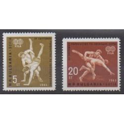 Bulgaria - 1963 - Nb 1190/1191 - Various sports