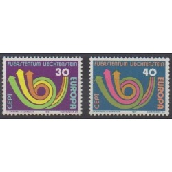 Lienchtentein - 1973 - Nb 532/533 - Europa