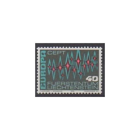 Lienchtentein - 1972 - Nb 507 - Europa