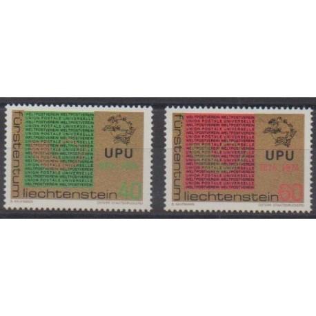 Liechtenstein - 1974 - No 550/551 - Service postal