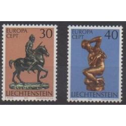Lienchtentein - 1974 - Nb 543/544 - Art - Europa