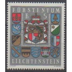 Lienchtentein - 1973 - Nb 537 - Coats of arms
