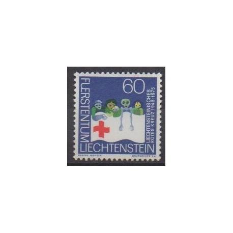 Liechtenstein - 1975 - No 568 - Santé ou Croix-Rouge