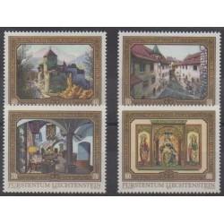 Liechtenstein - 1978 - No 647/650 - Peinture