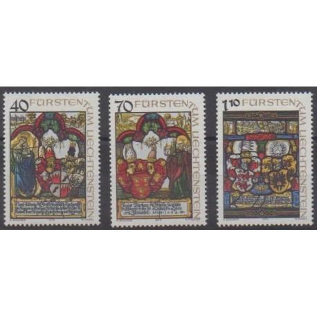 Liechtenstein - 1979 - No 672/674 - Art