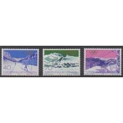 Liechtenstein - 1979 - No 679/681 - Jeux olympiques d'hiver