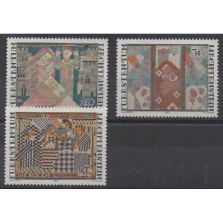 Liechtenstein - 1979 - No 676/678 - Art