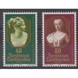 Liechtenstein - 1980 - No 682/683 - Célébrités - Europa - Art