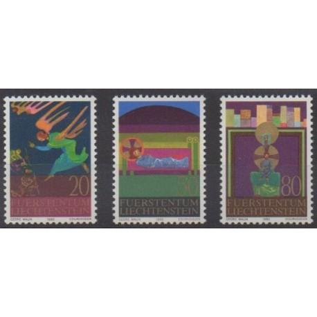 Liechtenstein - 1980 - No 702/703 - Noël