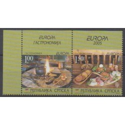 Bosnia and Herzegovina Serbian Republic - 2005 - Nb 306/307 - Gastronomy - Europa