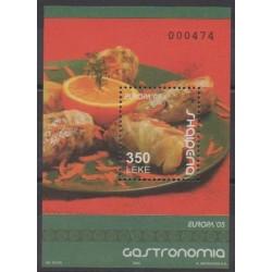 Albania - 2005 - Nb BF121 - Gastronomy - Europa