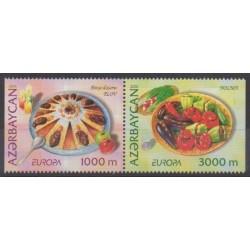 Azerbaijan - 2005 - Nb 525a/526a - Gastronomy - Europa