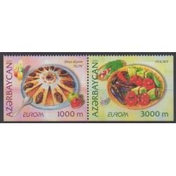 Azerbaïdjan - 2005 - No 525b/526b - Gastronomie - Europa