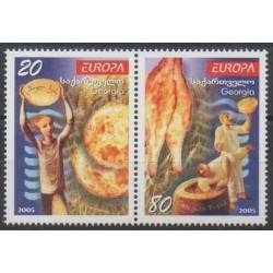 Géorgie - 2005 - No 381/382 - Gastronomie - Europa