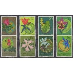Liechtenstein - 1970 - No 469/476 - Fleurs