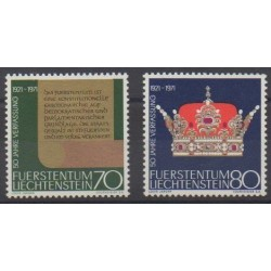 Lienchtentein - 1971 - Nb 489/490 - Various Historics Themes