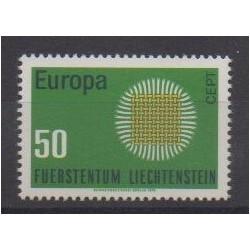 Lienchtentein - 1970 - Nb 477 - Europa