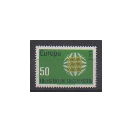 Liechtenstein - 1970 - No 477 - Europa