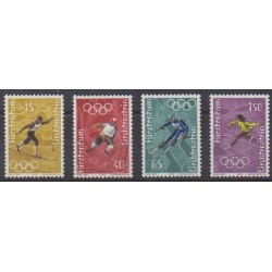 Liechtenstein - 1971 - No 494/497 - Jeux Olympiques d'été