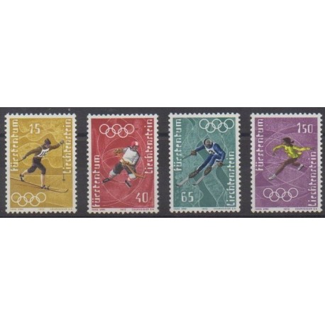 Lienchtentein - 1971 - Nb 494/497 - Summer Olympics