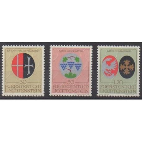 Lienchtentein - 1971 - Nb 491/493