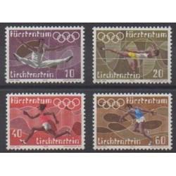 Lienchtentein - 1972 - Nb 499/502 - Summer Olympics