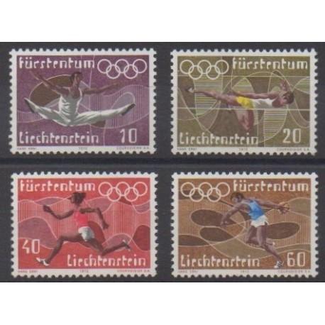 Liechtenstein - 1972 - No 499/502 - Jeux Olympiques d'été