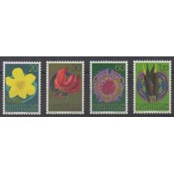 Liechtenstein - 1972 - No 503/506 - Fleurs