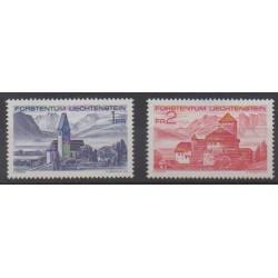 Liechtenstein - 1972 - No 508/509 - Églises