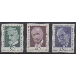 Lienchtentein - 1972 - Nb 510/512 - Celebrities - Philately