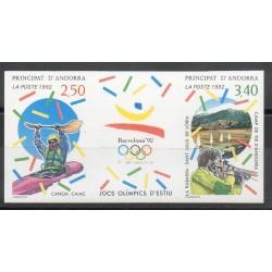Andorre - 1992 - No 419A ND - Jeux olympiques d'été