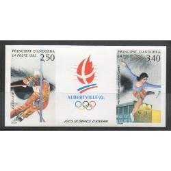 Andorre - 1992 - No 414A ND - Jeux olympiques d'été