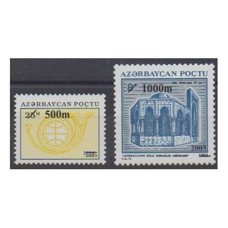 Azerbaïdjan - 2003 - No 466/467