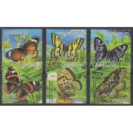 Azerbaijan - 2002 - Nb 439/444 - Insects