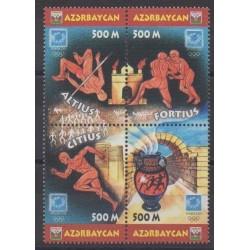 Azerbaijan - 2004 - Nb 492/495 - Summer Olympics