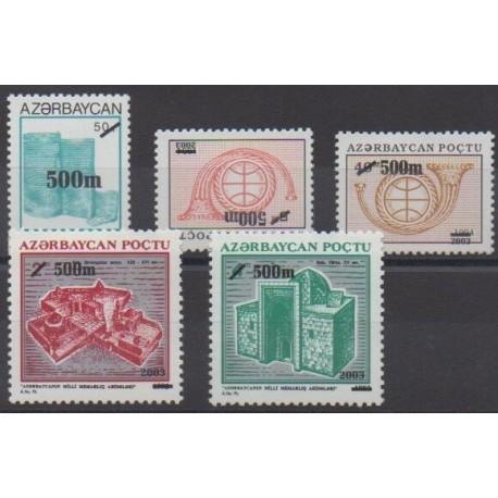 Azerbaïdjan - 2003 - No 478/482