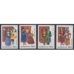 Azerbaïdjan - 2004 - No 502/505 - Costumes