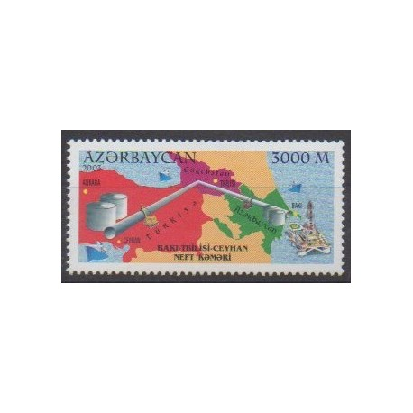 Azerbaijan - 2003 - Nb 464 - Science
