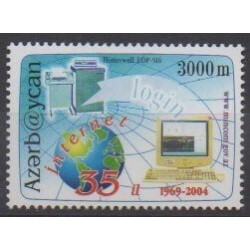 Azerbaïdjan - 2004 - No 506 - Télécommunications