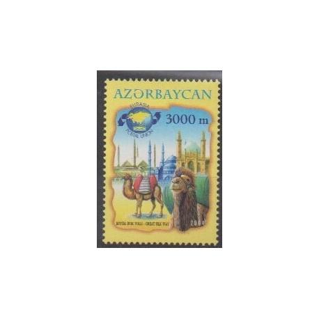 Azerbaijan - 2004 - Nb 501 - Various Historics Themes