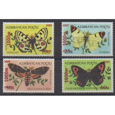 Azerbaijan - 2005 - Nb 511/514 - Insects