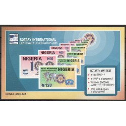 Timbres - Thème histoire divers - Nigeria - 2005- No BF 19