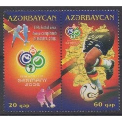 Azerbaijan - 2006 - Nb 541/542 - Soccer World Cup