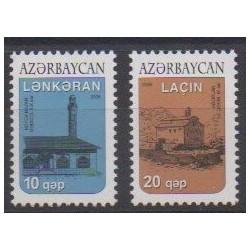 Azerbaijan - 2006 - Nb 550/551 - Monuments