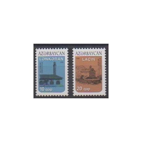 Azerbaïdjan - 2006 - No 550/551 - Monuments