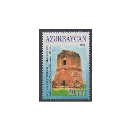 Azerbaijan - 2006 - Nb 552 - Monuments