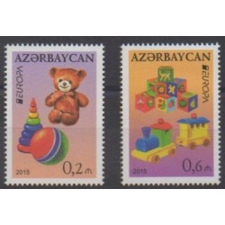 Azerbaijan - 2015 - Nb 898/899 - Childhood - Europa